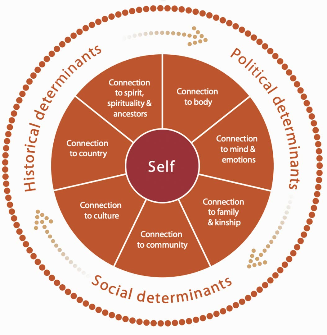 Figure 1: Social and Emotional Wellbeing Framework